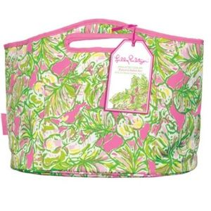 Lilly Pulitzer Beverage Tote In Elephant Ears